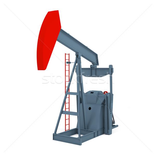 Einheit weiß Bild Öl Energie Macht Stock foto © cherezoff