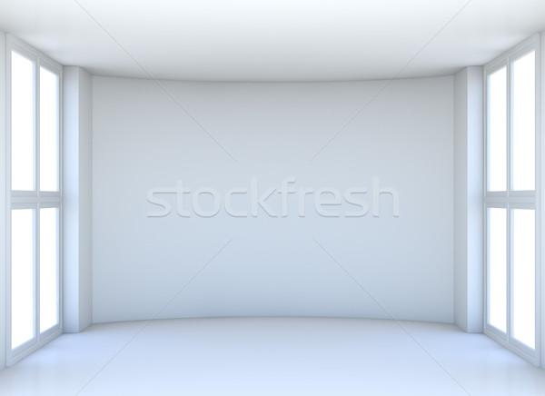 Salle d'exposition produit intérieur chambre Photo stock © cherezoff