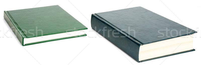Livres isolé blanche ouvrir une livre Photo stock © cherezoff