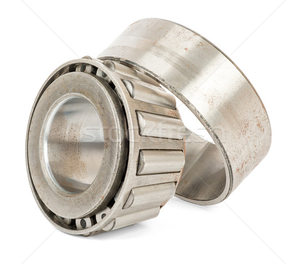 Roller bearing on white Stock photo © cherezoff