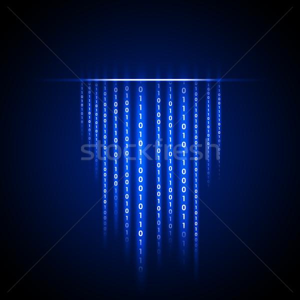 Abstract matrix background Stock photo © cherezoff