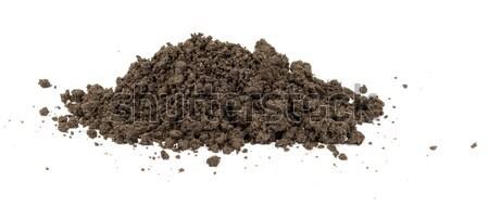 Hoop grond geïsoleerd witte Stockfoto © cherezoff