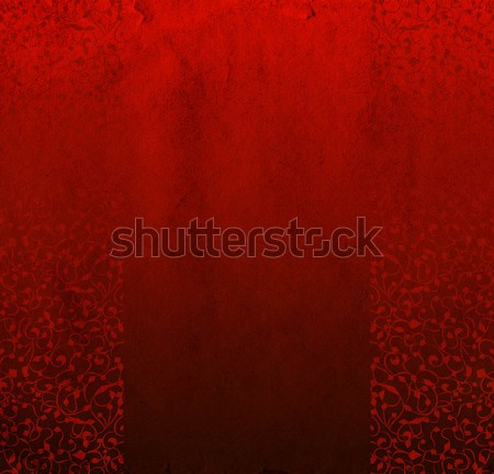 Red floral background Stock photo © cherju