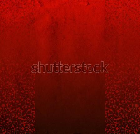 Rood papier steeg natuur blad Stockfoto © cherju