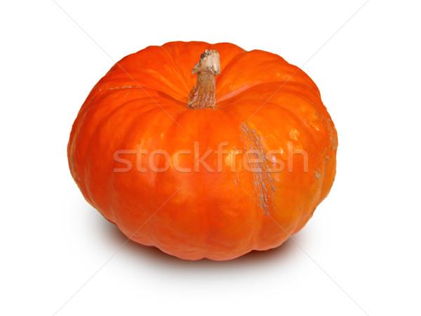 foto of orange bright color pumpkin Stock photo © cherju
