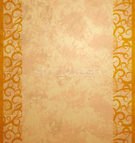 Resumen amarillo grunge efecto textura luz Foto stock © cherju