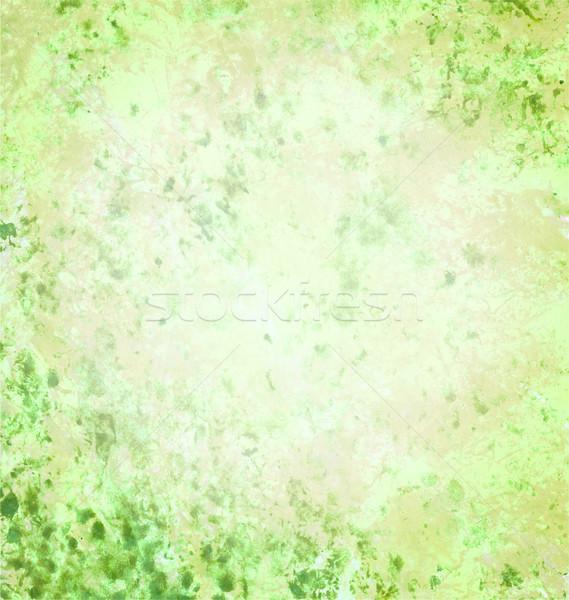薄緑 グランジ 紙 壁 自然 ストックフォト © cherju