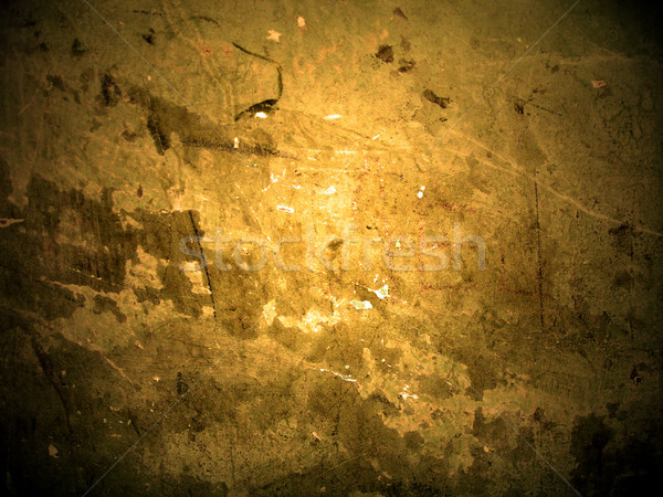 Agrietado amarillo pared textura diseno fondo Foto stock © cherju