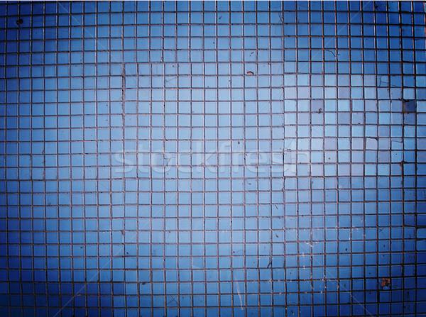 blue wall Stock photo © cherju