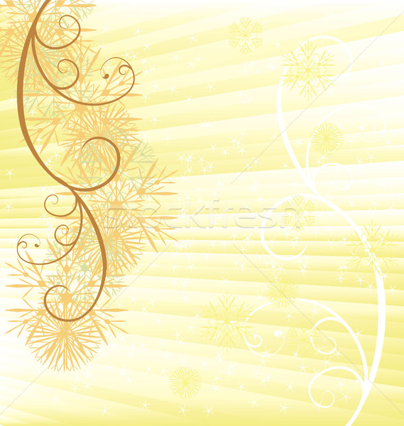 Navidad vector copo de nieve tarjeta ilustración textura Foto stock © cherju
