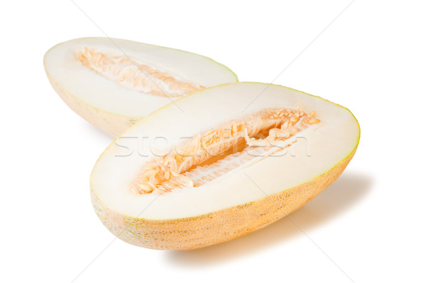 isolated yellow watermelon Stock photo © chesterf