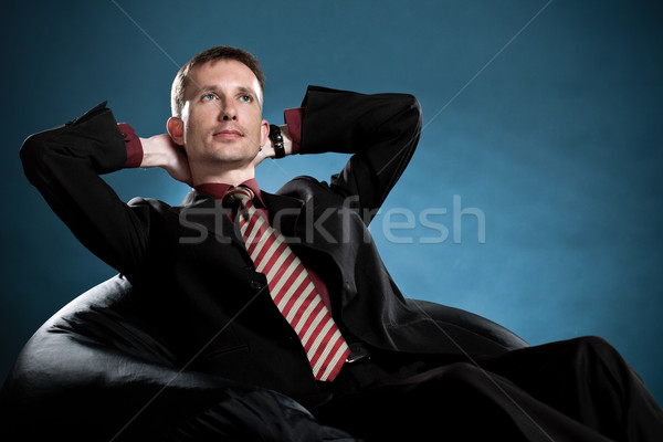 dreaming businessman Stock photo © chesterf