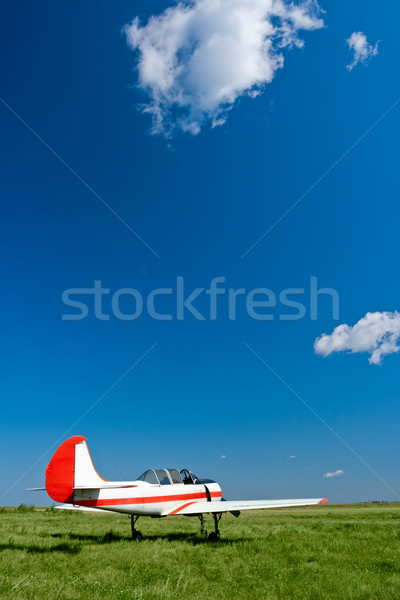 airpale under blue skies Stock photo © chesterf