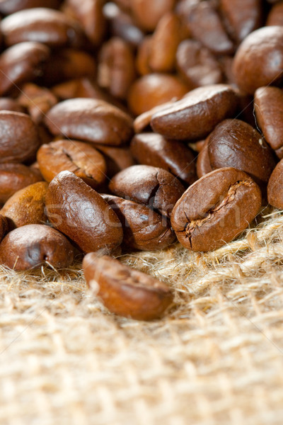 coffee vertical background Stock photo © chesterf