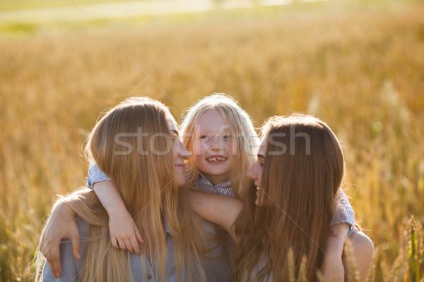 Сток-фото: красивой · молодые · матери