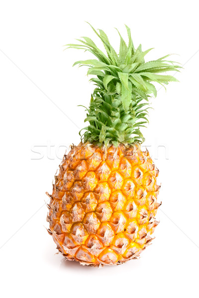 isolated ananas fruit Stock photo © chesterf