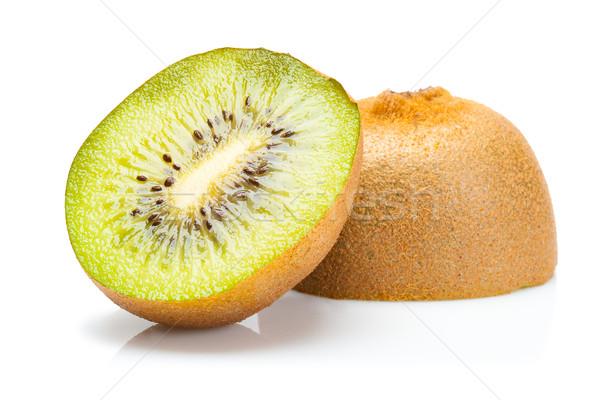 изолированный свежие киви фрукты зеленый фон Сток-фото © chesterf