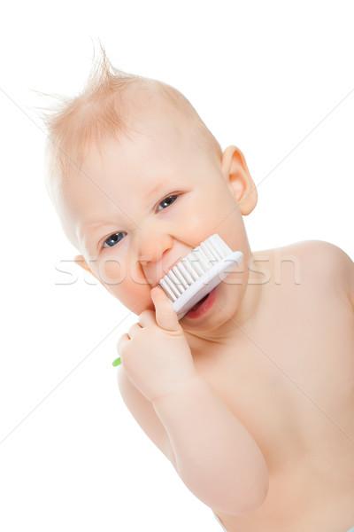 baby boy portrait Stock photo © chesterf