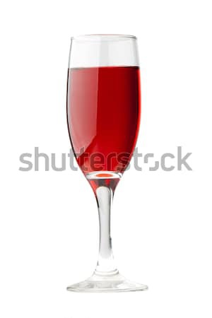isolated red wineglass Stock photo © chesterf