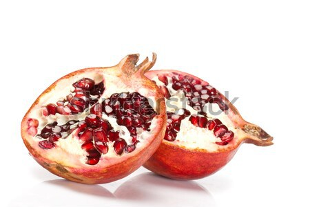 two slices of pomegranate Stock photo © chesterf