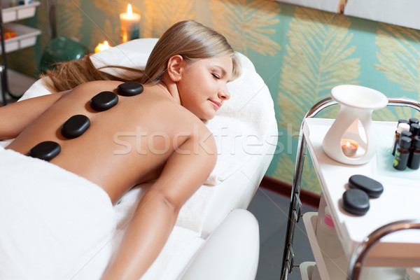 woman in spa salon Stock photo © chesterf
