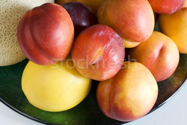 果物 食品 自然 背景 緑 色 ストックフォト © cheyennezj