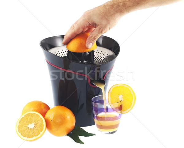 Orange squeezer  Stock photo © cheyennezj