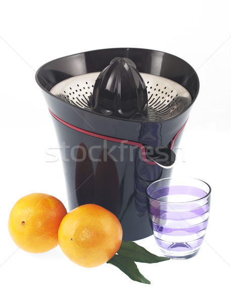 Pomarańczowy owoców pić koktajl soku życia Zdjęcia stock © cheyennezj