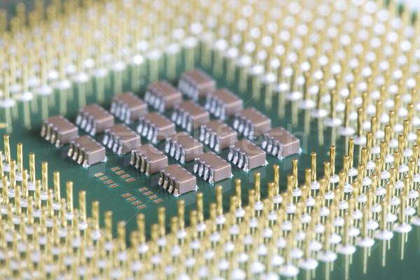 Computer micro processore circuito chip Foto d'archivio © cheyennezj