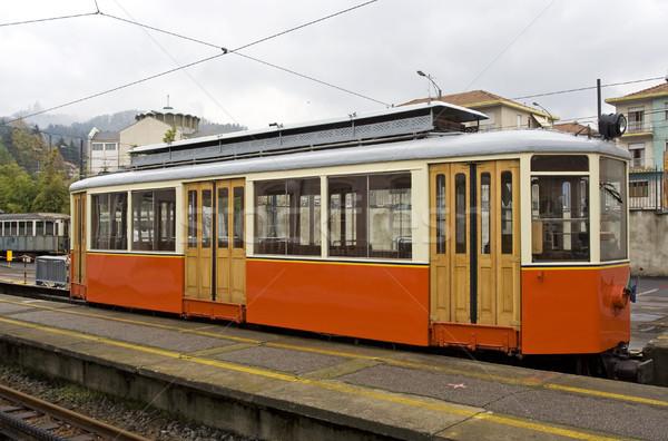 Old tram  Stock photo © cheyennezj
