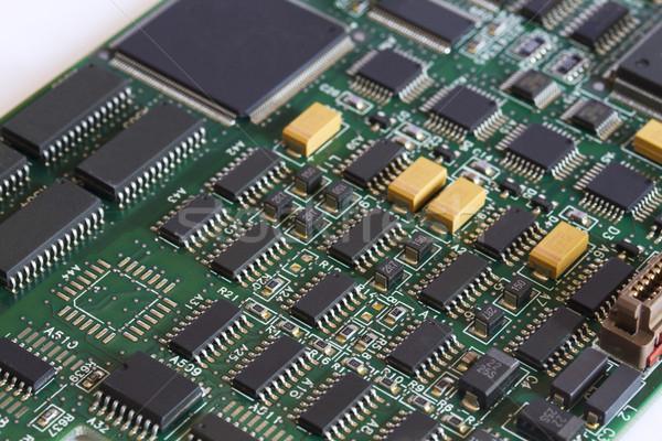 Elektronikus áramkör számítógép textúra ipari elektromos Stock fotó © cheyennezj