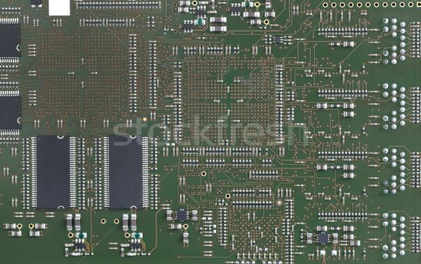 Electrónico circuito tecnología fondo industrial digital Foto stock © cheyennezj