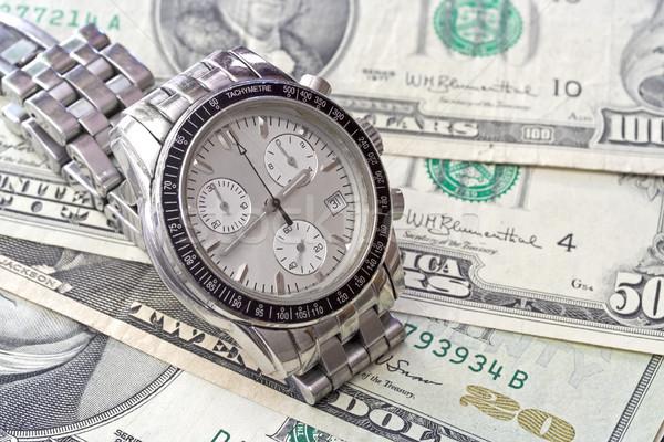 Czasu działalności ceny technologii komórkowych banku Zdjęcia stock © cheyennezj
