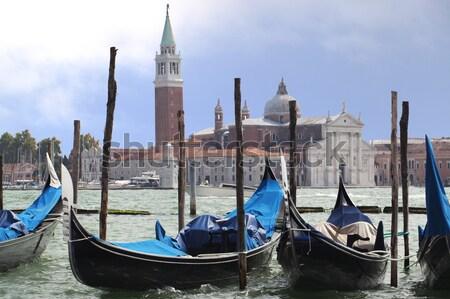 Gondola, Venice  Stock photo © cheyennezj