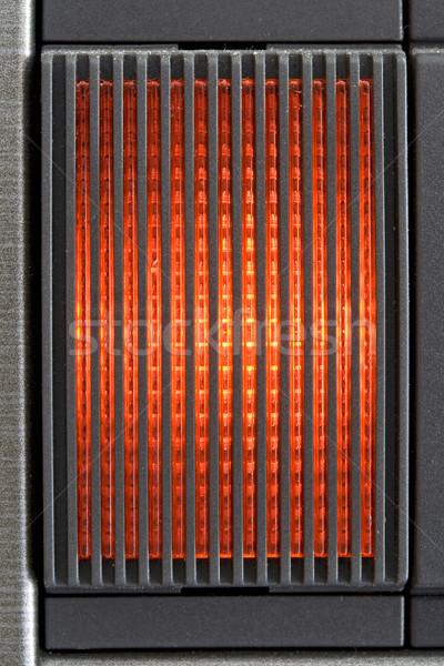 Czerwone światło tekstury drogowego świetle tle podpisania Zdjęcia stock © cheyennezj