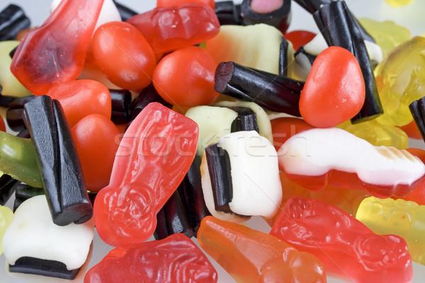 Cukorka jókedv medve édes cukor diéta Stock fotó © cheyennezj