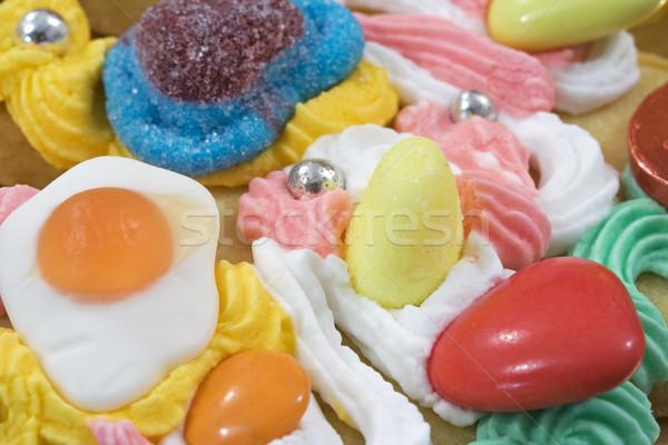 édes cukorka szeretet jókedv medve cukor Stock fotó © cheyennezj