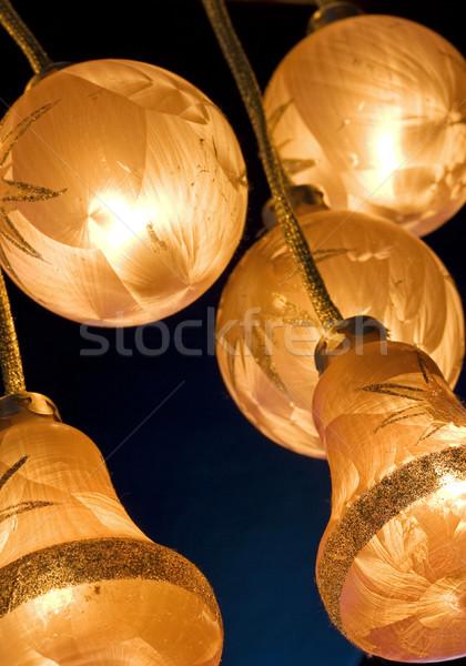 クリスマス 光 冬 ランプ 休日 新しい ストックフォト © cheyennezj