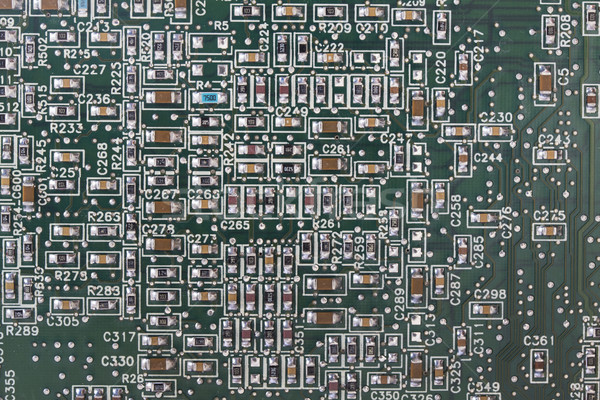 Electronic circuit  Stock photo © cheyennezj