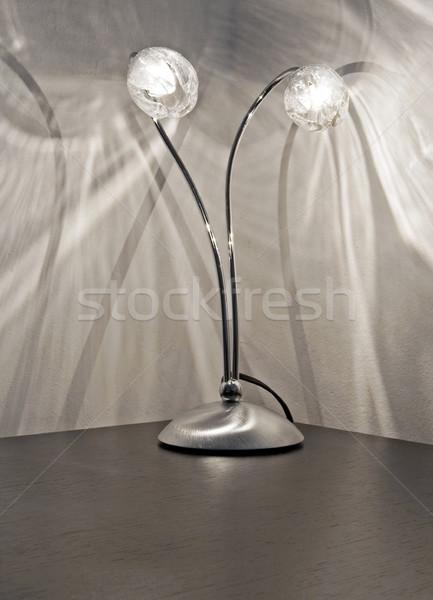 Badside table lamp  Stock photo © cheyennezj