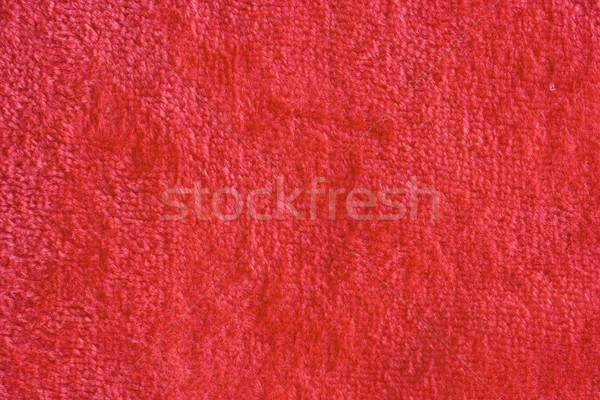 ファブリック 赤 テクスチャ 壁 抽象的な 色 ストックフォト © cheyennezj