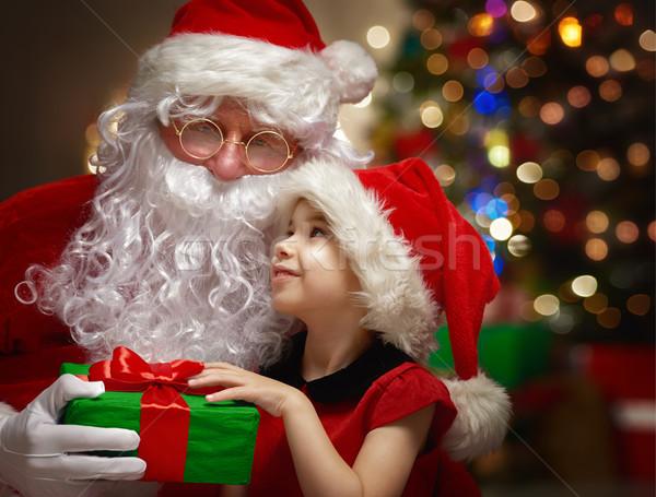 Santa Claus Stock photo © choreograph