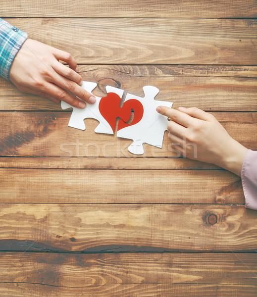 Concept of Valentine's day. Stock photo © choreograph