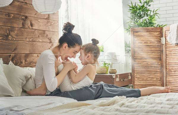 Happy loving family. Stock photo © choreograph
