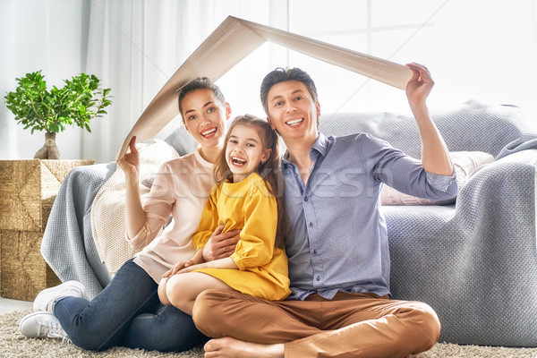 Concept of housing for young family.  Stock photo © choreograph