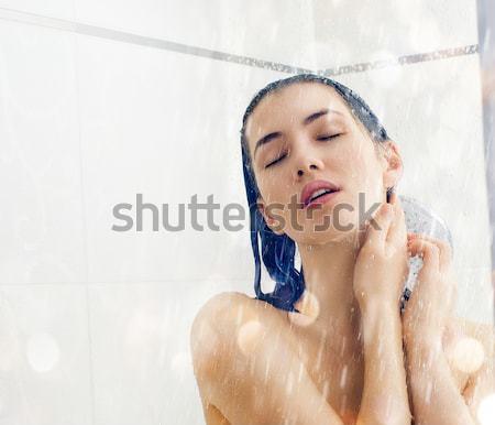 girl is washing Stock photo © choreograph