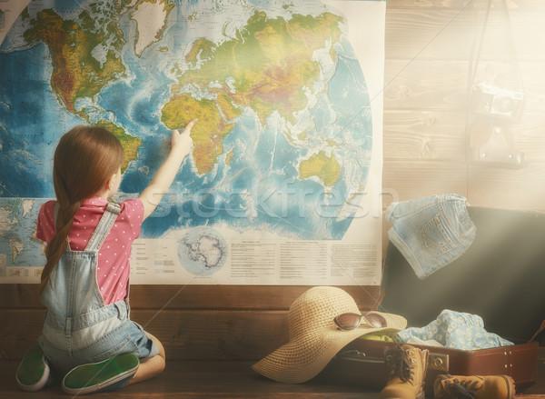 Dreams of travel Stock photo © choreograph