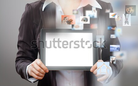 tablet pc Stock photo © choreograph