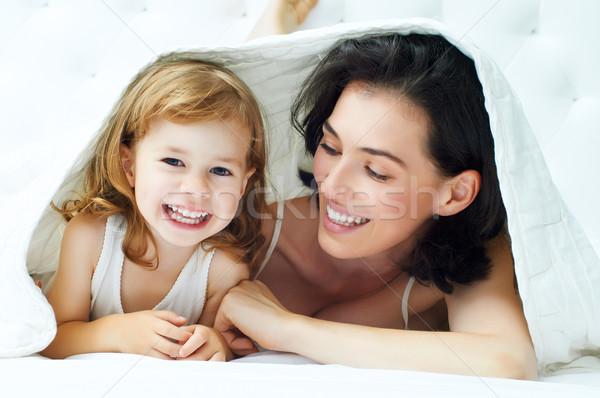 счастливая - семья - дочь - матери - счастливым - вместе - девушки - Сток-фото Konstantin Yuganov (choreograph) (#3384601) Stock