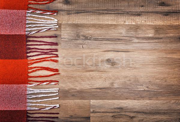 red checkered plaid Stock photo © choreograph
